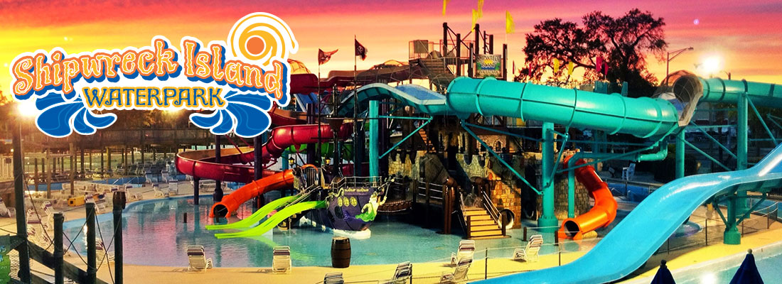 Shipwreck Island Water Park At Adventure Landing