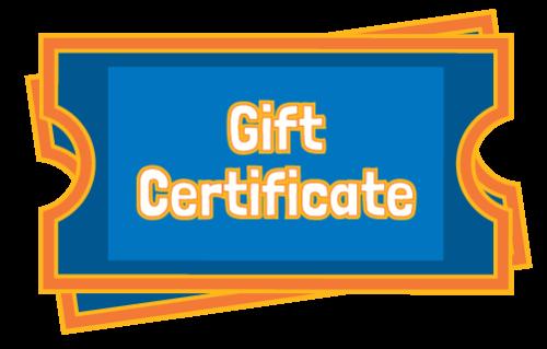Gift Certificate | Adventure Landing & Shipwreck Island Water Park | Jacksonville Beach, FL