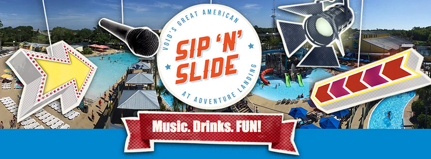 Void Great American Sip N Slide Event 5pm 10pm