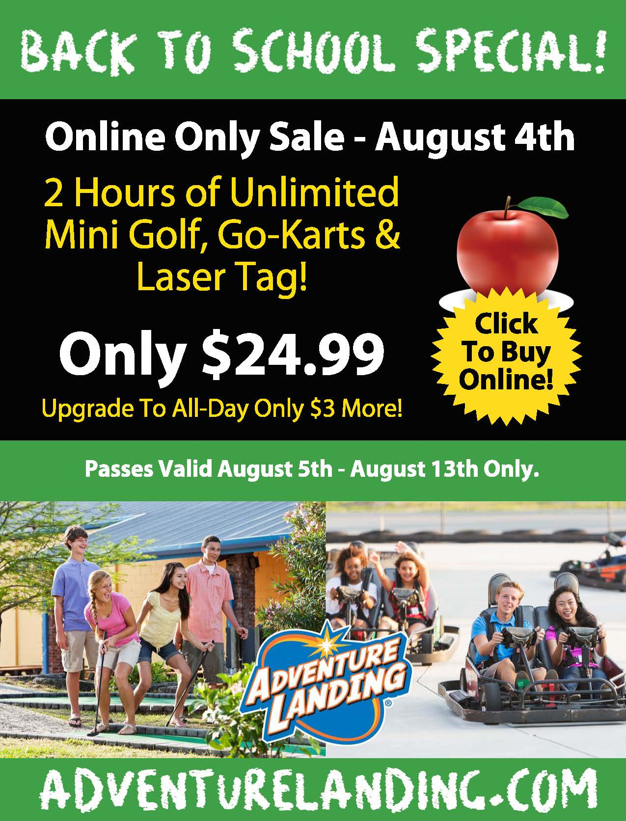 Back To School Special Jacksonville Beach
