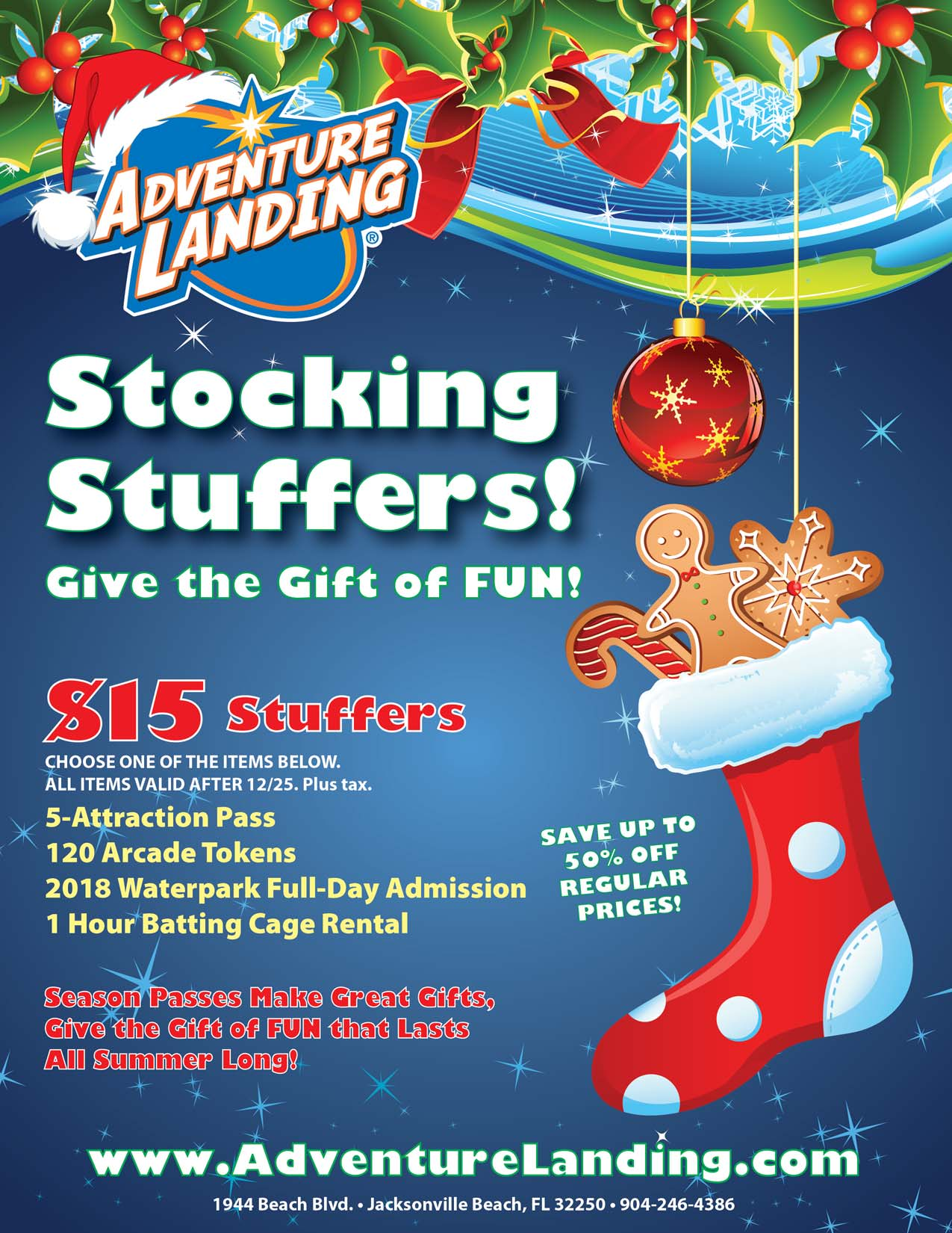 Stocking Stuffer Sale Jacksonville Beach