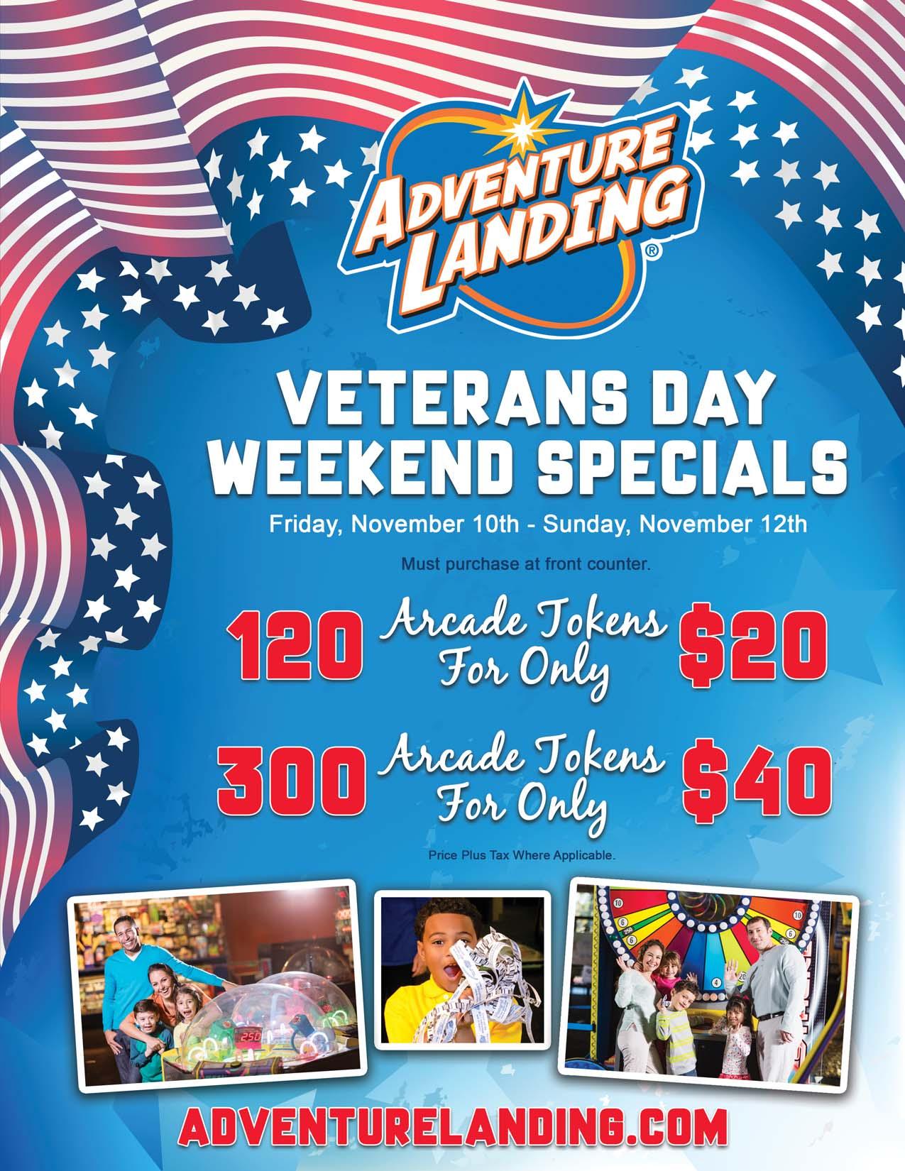 Veterans Day Weekend Specials Jacksonville Beach