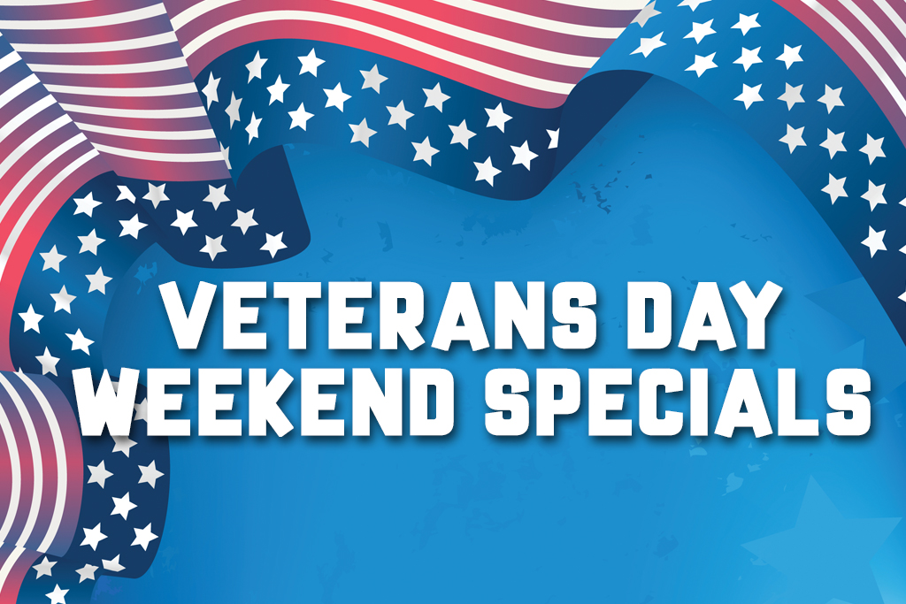 Veterans Day Weekend Specials Jacksonville Beach