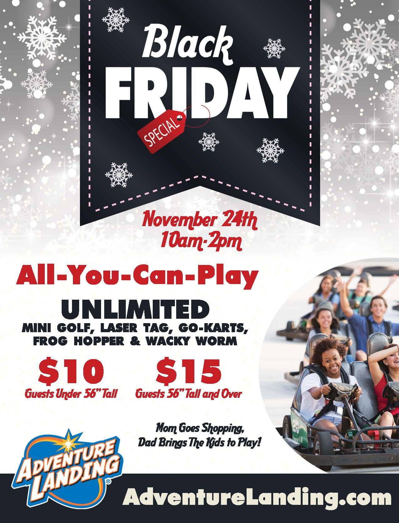 Black Friday Play Special Jacksonville Beach