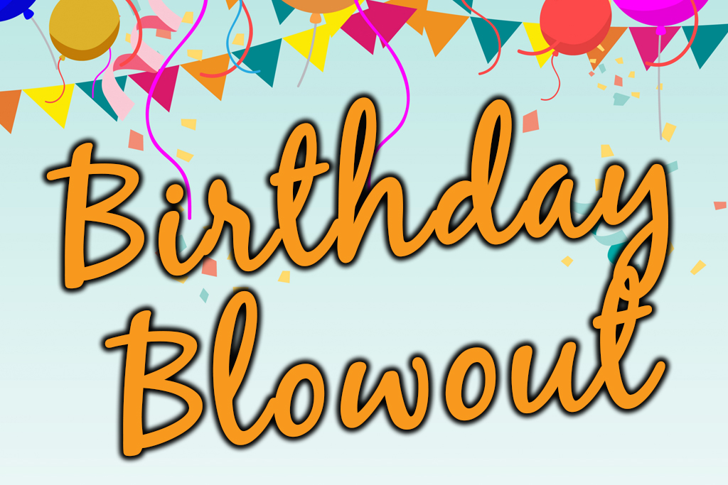 Birthday Blowout Sale Jacksonville Beach