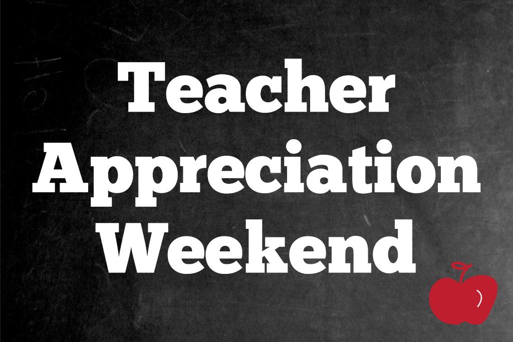 Teacher Appreciation Weekend Jacksonville Beach