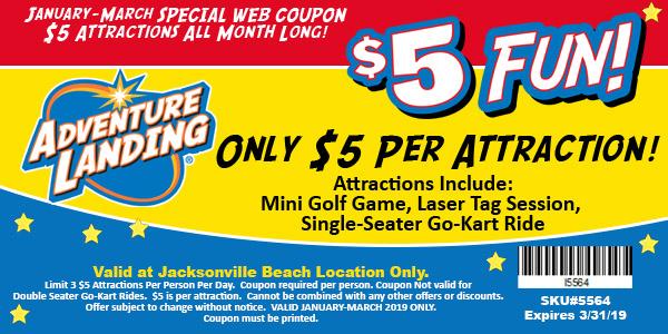 5 Fun Days Jacksonville Beach