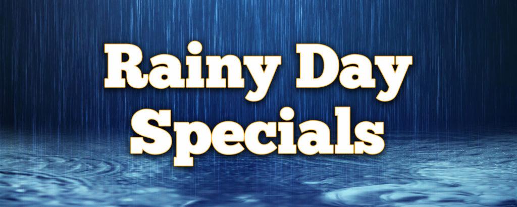 Rainy Day Specials Jacksonville Beach